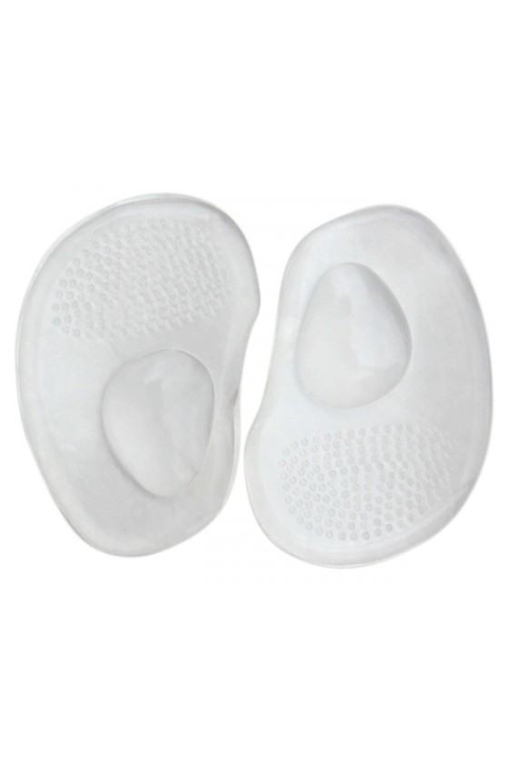 Gel half-inserts with pellets
