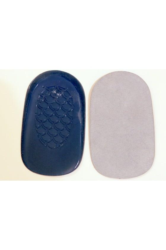 Gel hems with microfiber