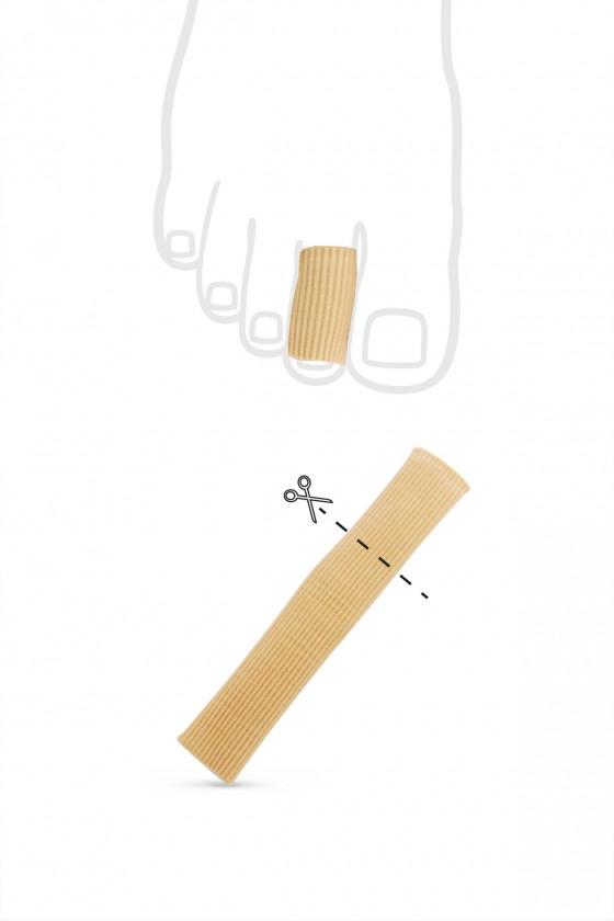 Cotton-gel finger cover