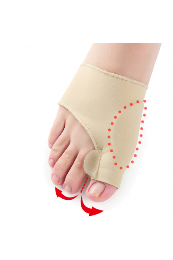 Bunions band with wedge