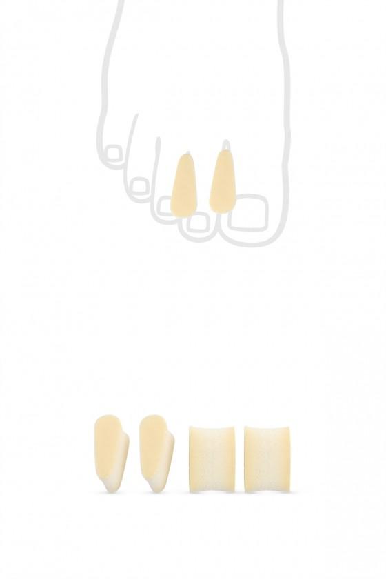 Inter-finger wedges