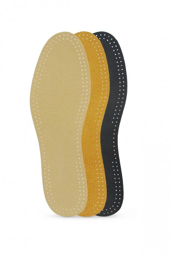 Self-adhesive leather
